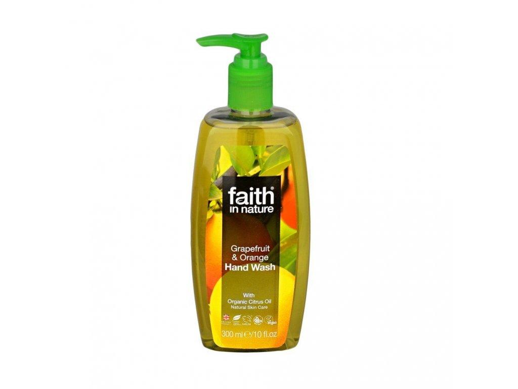 Mýdlo na ruce - Grep a Pomeranč
