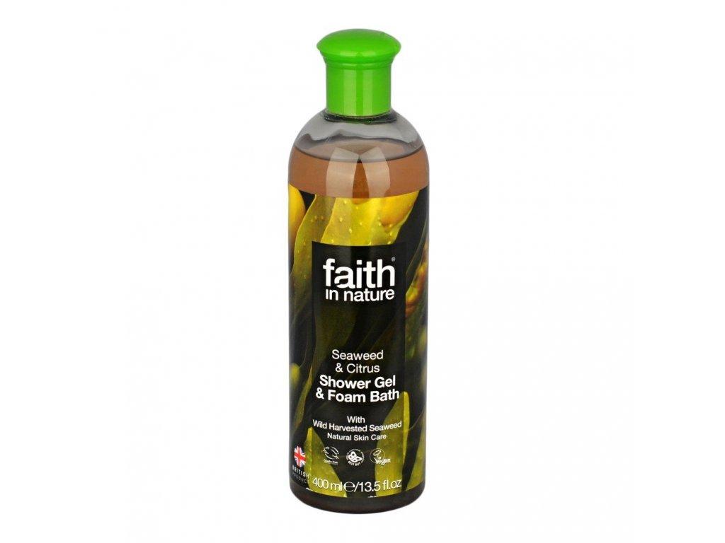 Sprchový gel a pěna do koupele - Mořská řasa a citrus