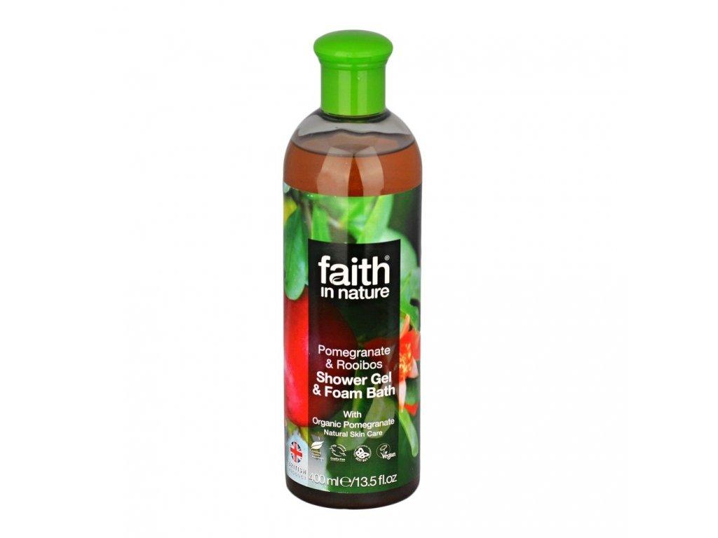 Sprchový gel a pěna do koupele - Granátové jablko (Organic) & Rooibos