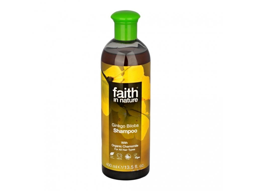 Šampon s ginko bilobou