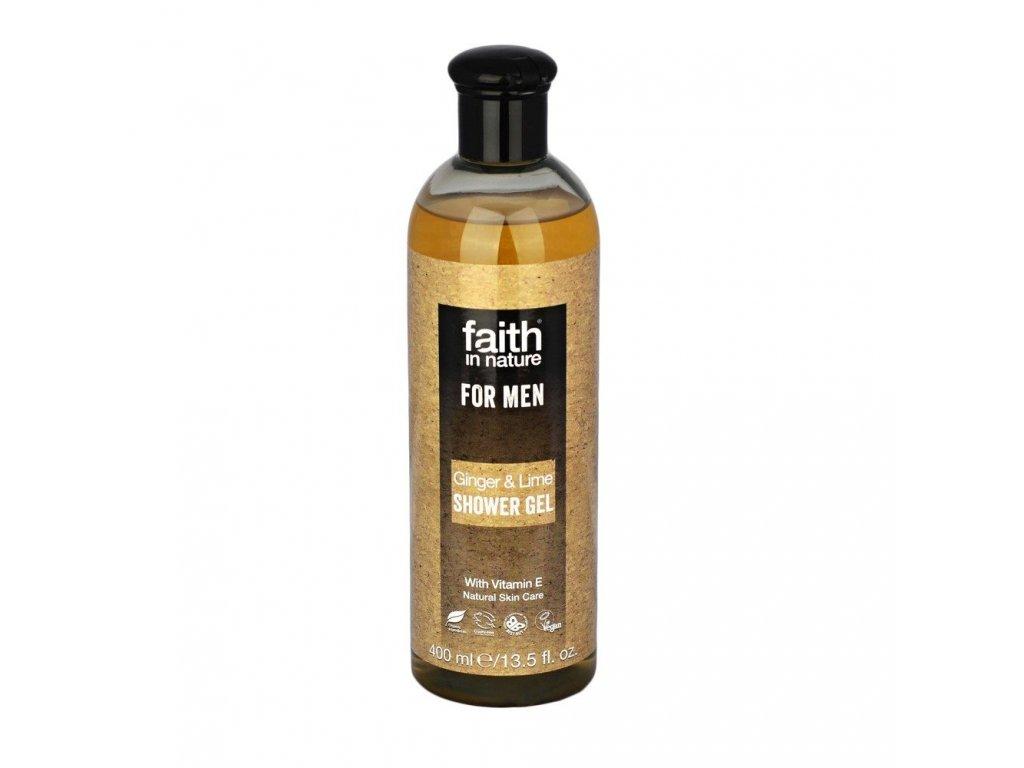 Sprchový gel pro muže - Zázvor a Limetka