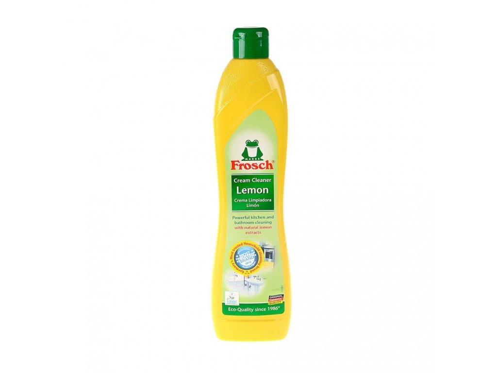 Krémový čistič s citrónem