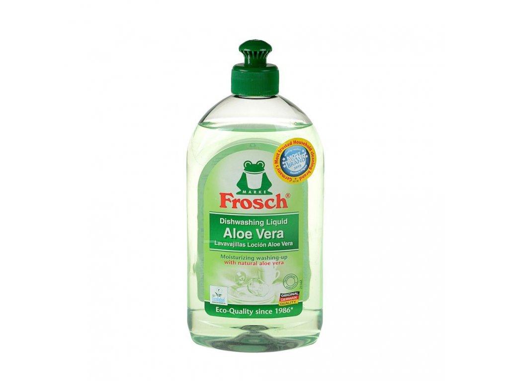 Prostředek na mytí nádobí s Aloe vera