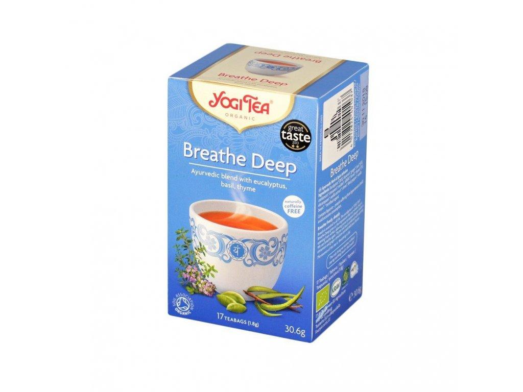 Yogi čaj Breathe Deep