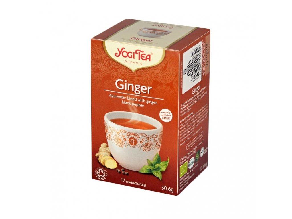 Yogi čaj Ginger - zázvor