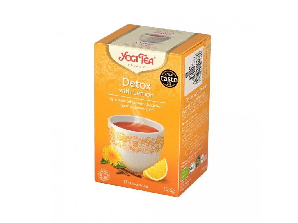 Yogi čaj Detox s citronem