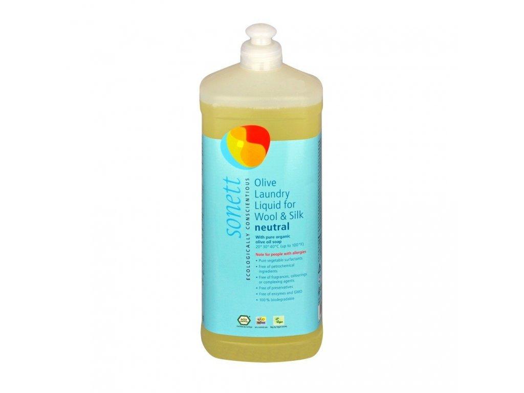 Olivový prací gel na vlnu a hedvábí Neutral