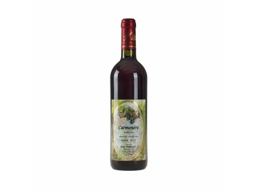 Carmenére - zemské víno 2012