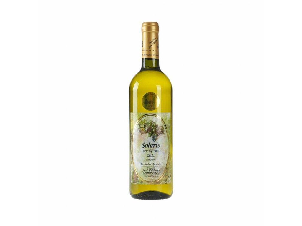 Solaris - zemské víno 2013