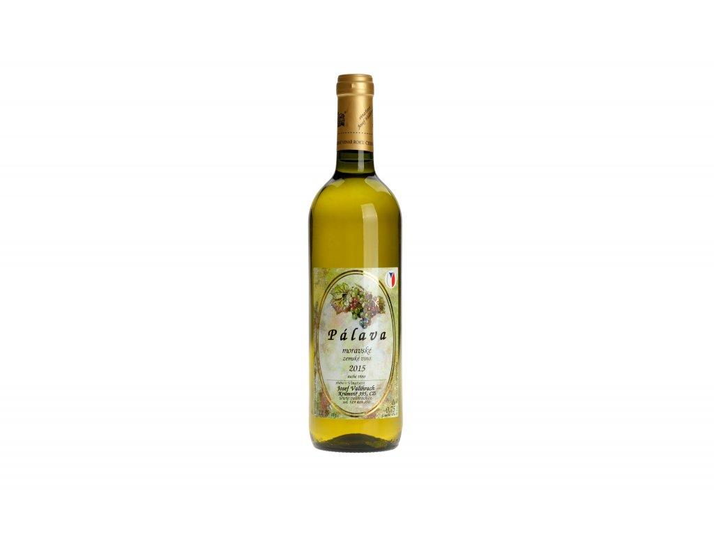 Pálava zemské víno 2015