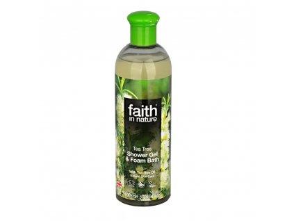 Sprchový gel a pěna do koupele - Tea Tree