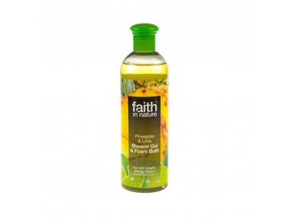 Sprchový gel a pěna do koupele Ananas & Limeta