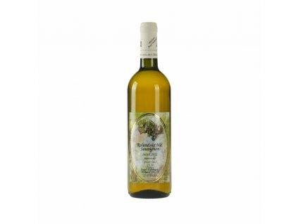 Cuvée Rulandské bílé + Savignon - zemské víno 2011