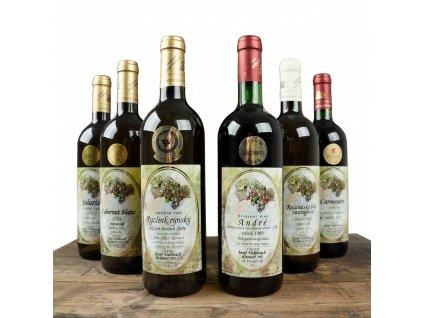 Degustační balíček vína na víkend - 6 lahví