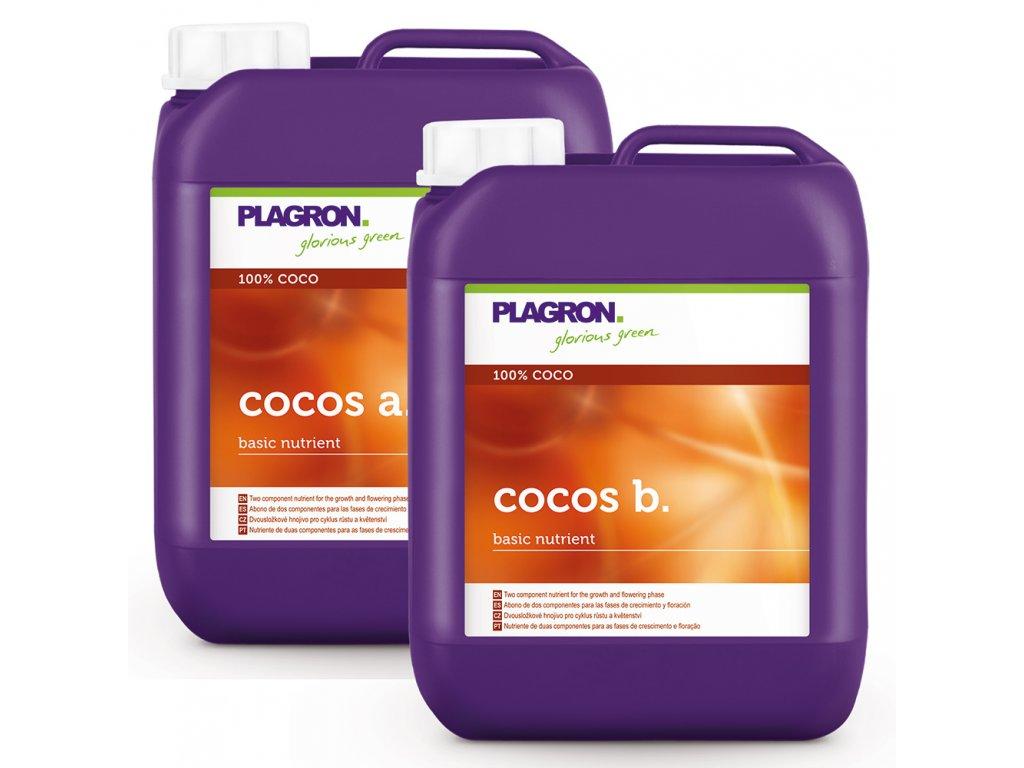PLAGRON COCOS A+B (Objem 5 litrů)
