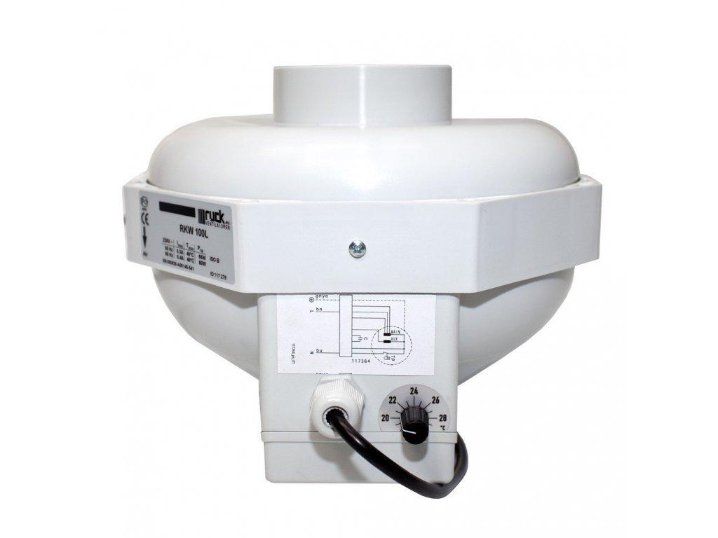 1461 ventilator ruck can fan 160ls 810 m3 h priruba 160 mm