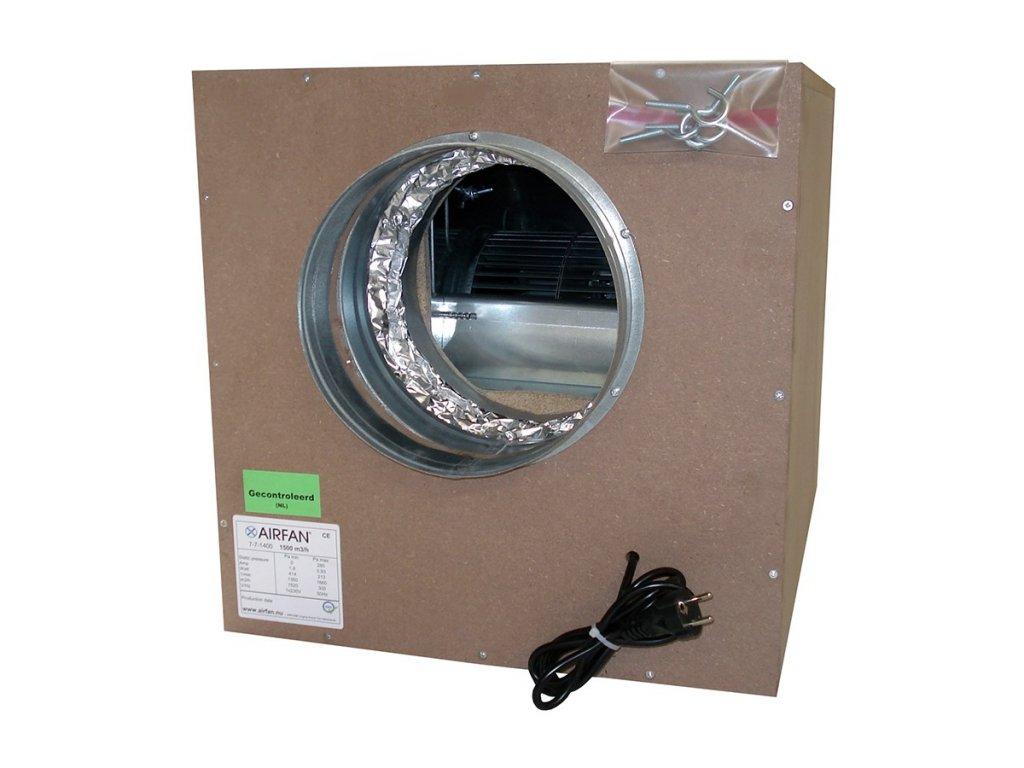 58142 airfan soft box 1500 m2 h maximalne odhlucneny ventilator vcetne prirub a haku k upevneni