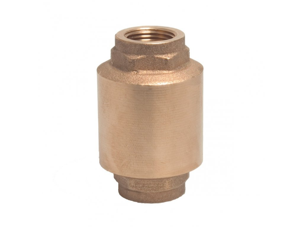 58307 aquaking zpetny ventil 1 mosaz