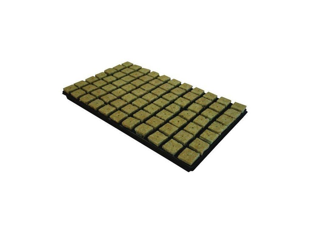 61037 grodan sadbovaci kostka 36x36x40mm s dirou v sadbovaci 77ks