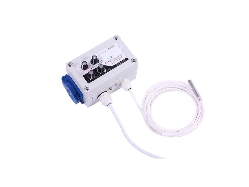 61325 gse digitalni regulator teploty min max rychlosti ventilatoru a hystereze 2x1a
