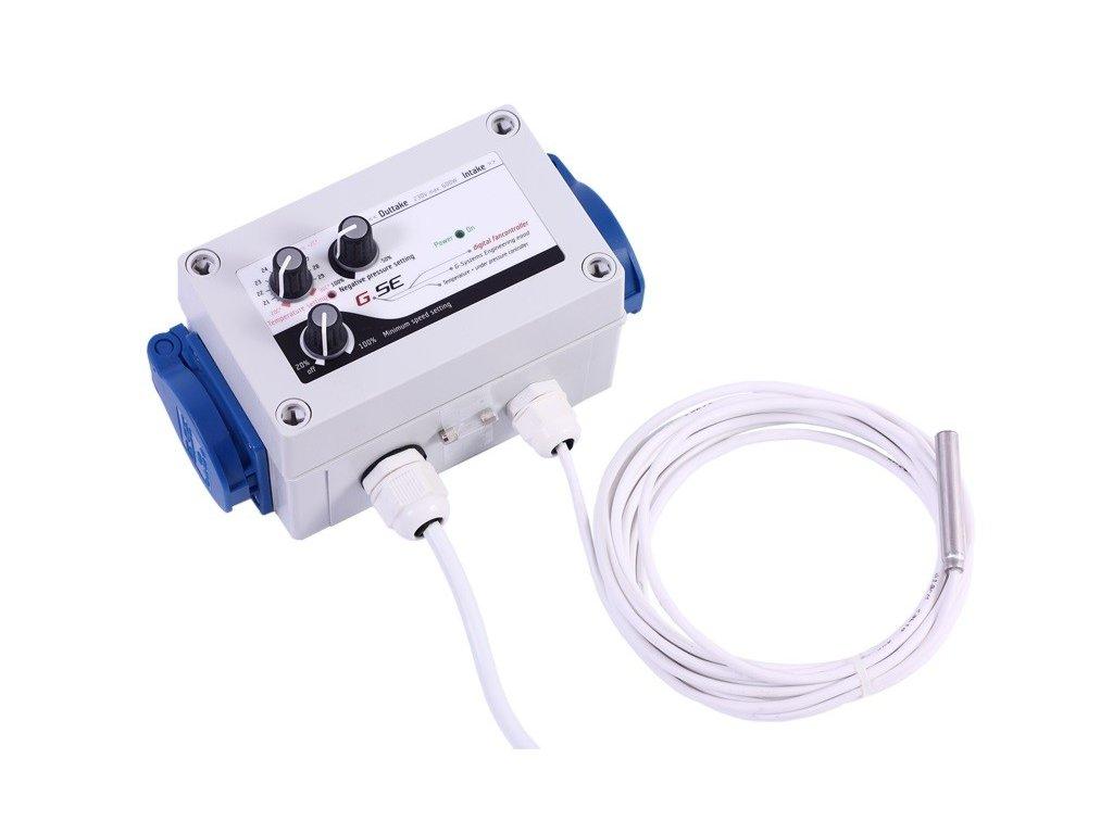 61334 gse digitalni regulator teploty podtlaku a min rychlosti ventilatoru 2x5a