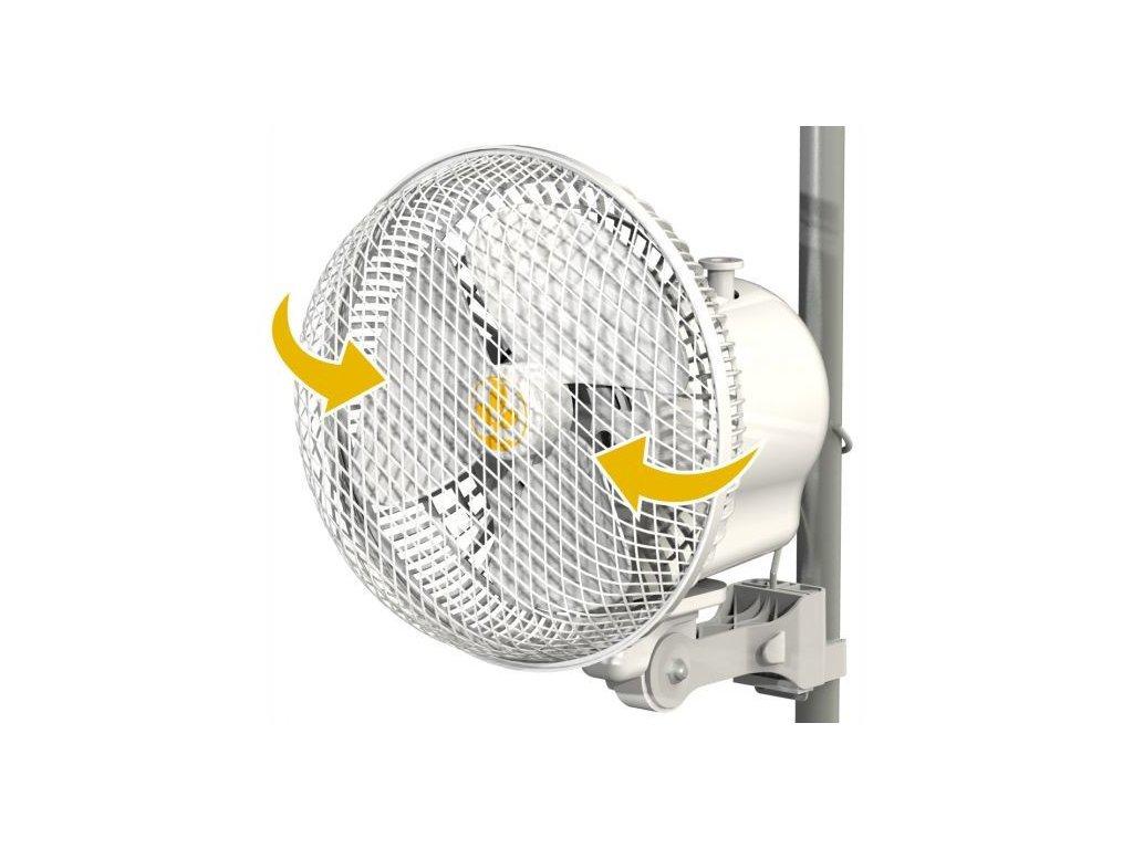 62591 monkey fan 21cm 20w oscilacni 2rychlosti pro tyc 16 21mm
