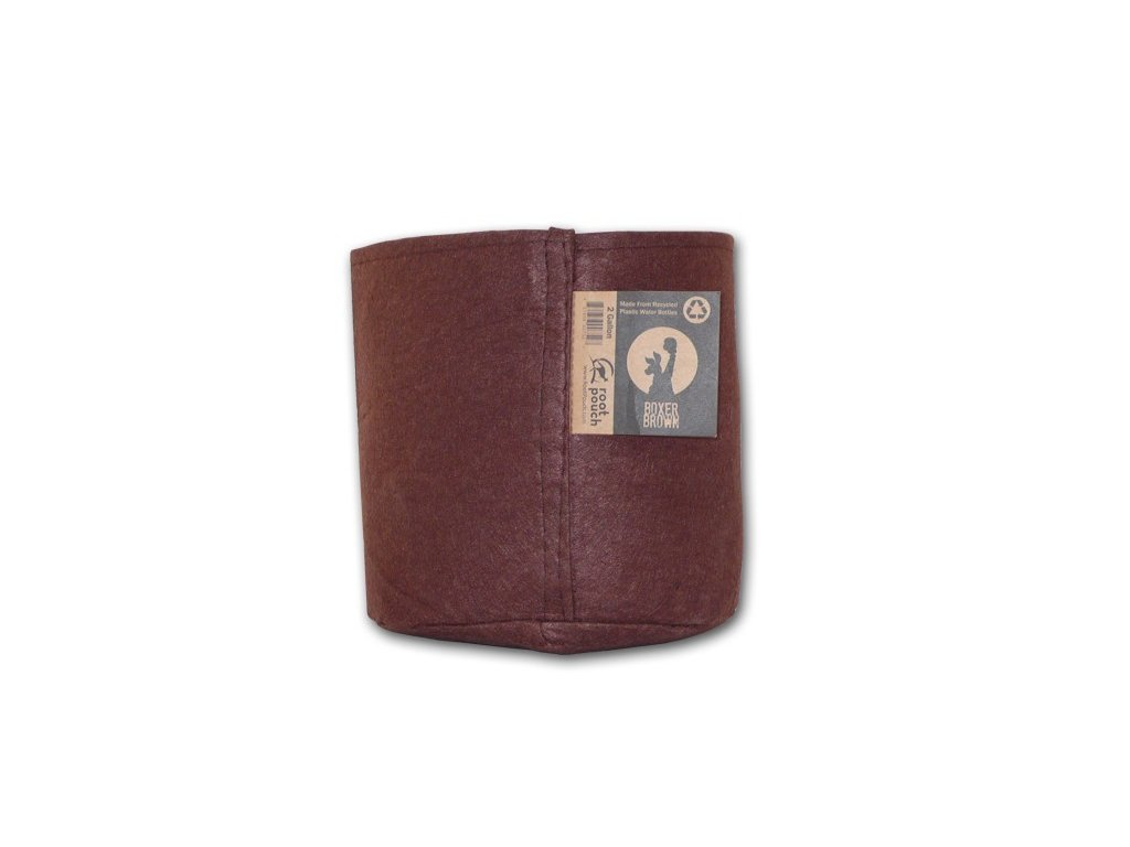 63770 root pouch textilni kvetinac boxer brown 8l
