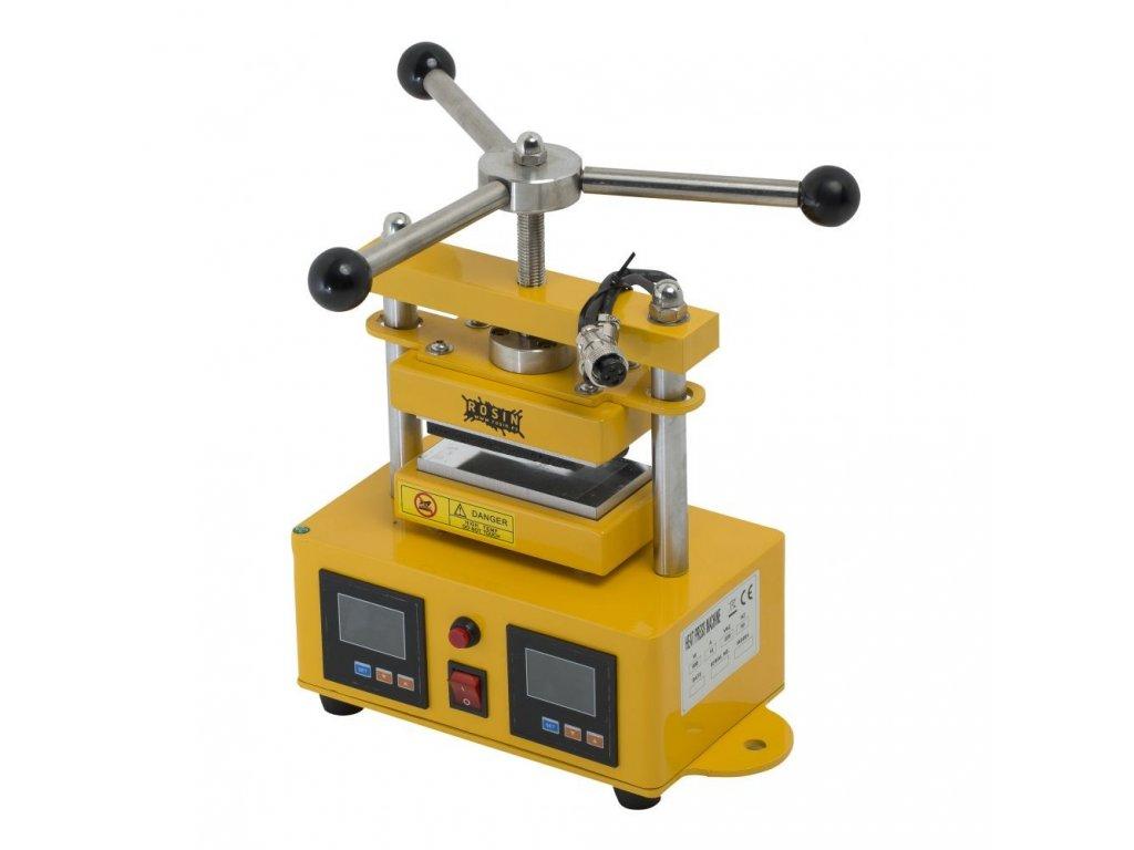 63851 rosin press manualni lis 1 tuna vyhrivana lisovaci plocha 6x12cm