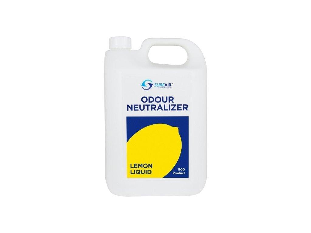 64421 sure air liquid 5l lemon