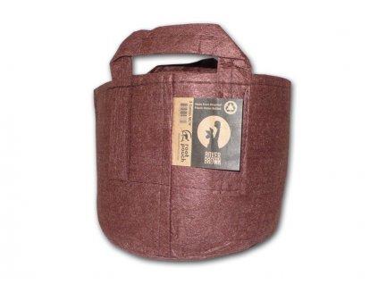 63764 root pouch textilni kvetinac boxer brown 30l