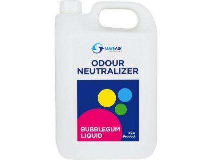 64415 sure air liquid 5l buble gum