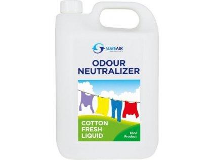 64418 sure air liquid 5l cotton fresh