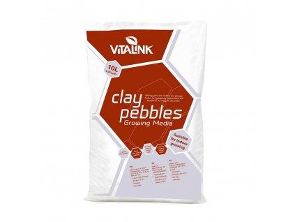 64814 vitalink clay pebbles 10l keramzit