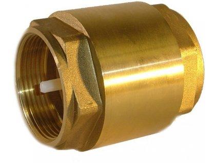 65084 zpetny ventil mosazny 3 4 2 x zavit