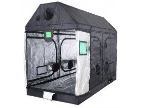 59477 budbox pro xxl 120x240x180 stribrny zkoseny pod strechu