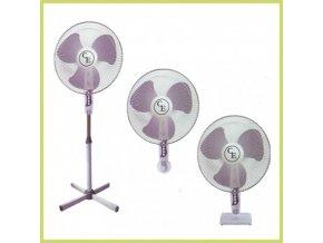 60077 cornwall f125 40cm cirkulacni ventilator stojanovy 3v1
