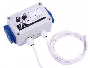 61331 gse digitalni regulator teploty podtlaku a min rychlosti ventilatoru 2x1a