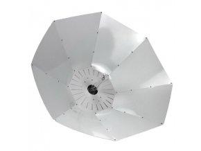 62414 lumatek turrican white 100 cm parabolicke stinidlo