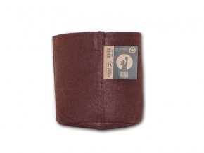 63770 root pouch textilni kvetinac boxer brown 8l