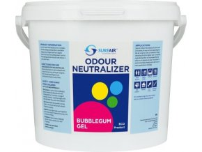 64400 sure air gel 5l bublegum