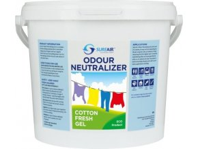 64403 sure air gel 5l fresh cotton