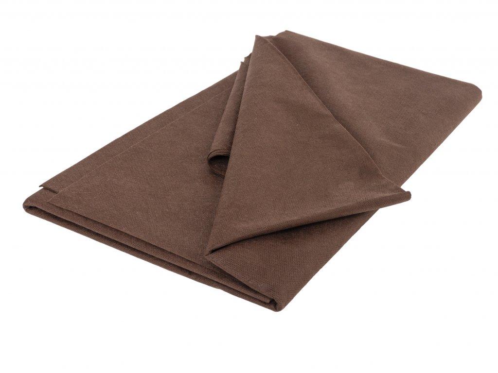 Mulčovacia netkaná textília ZELOTEX UV 50 g m2 hnedá 1,6 x 10 m