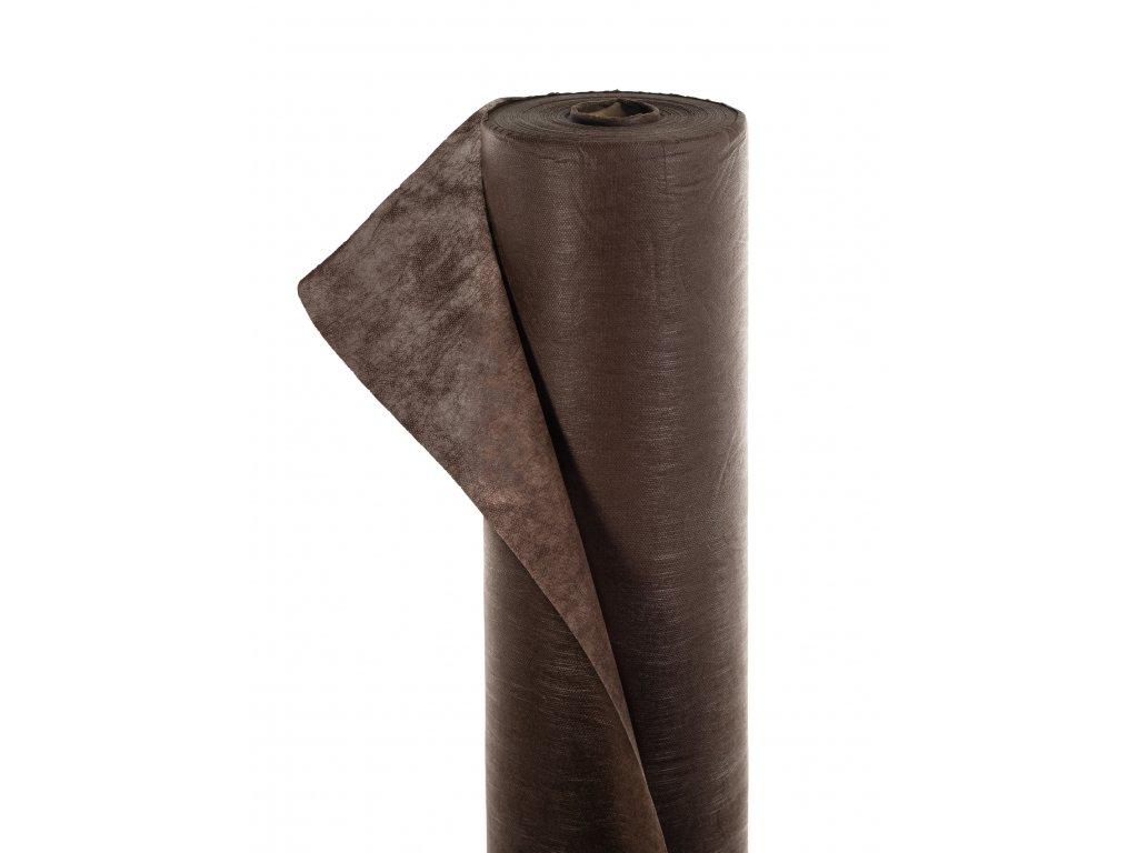 Mulčovacia netkaná textília ZELOTEX UV 50 g m2 hnedá 1,6 x 250 m