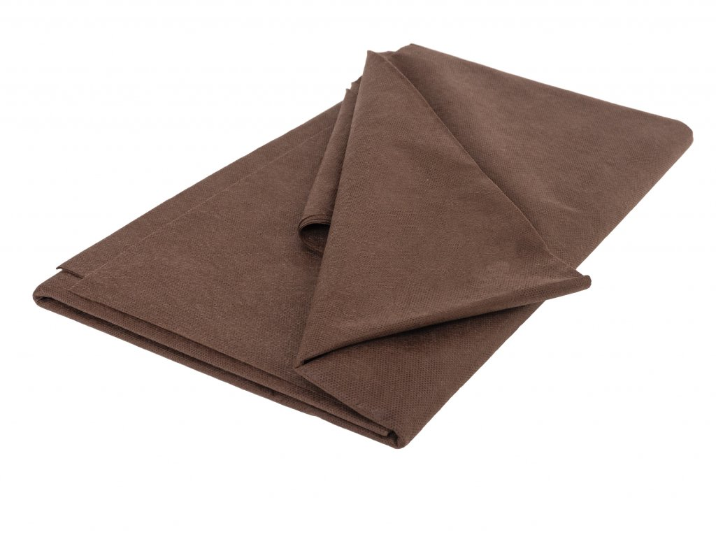 Mulčovacia netkaná textília ZELOTEX UV 50 g m2 hnedá 3,2 x 5 m