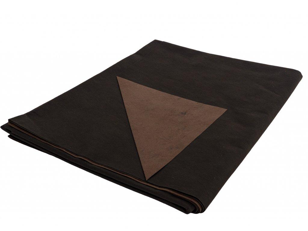 Mulčovacia netkaná textília ZELOTEX UV 68 g m2 čiernohnedá 1,6 x 5 m