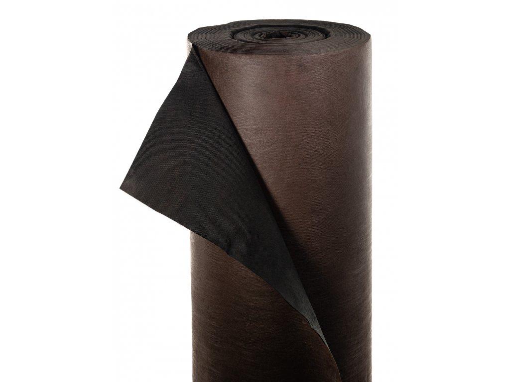 Mulčovacia netkaná textília ZELOTEX UV 68 g m2 čiernohnedá 1,6 x 250 m