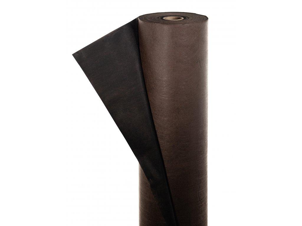 Mulčovacia netkaná textília ZELOTEX UV 68 g m2 čiernohnedá 3,2 x 100 m