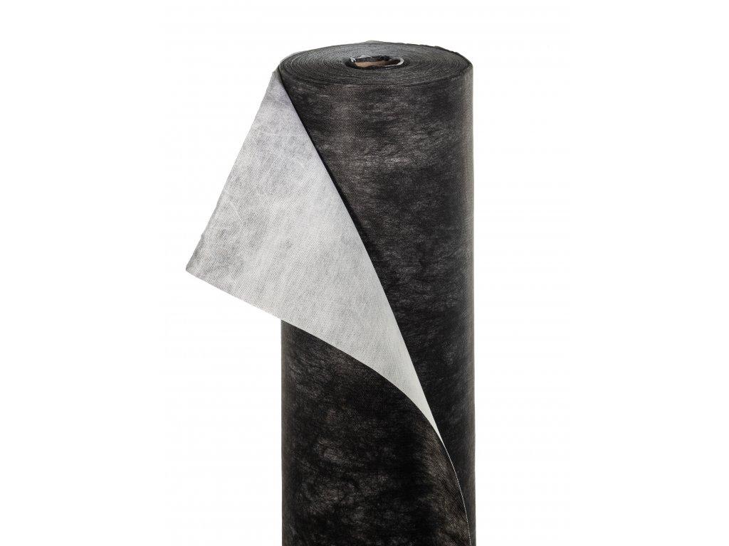 Mulčovacia netkaná textília ZELOTEX UV 68 g m2 čiernobiela 1,6 x 100 m