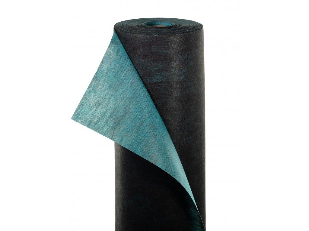 Mulčovacia netkaná textília ZELOTEX UV 68 g m2 čiernozelená 1,6 x 100 m
