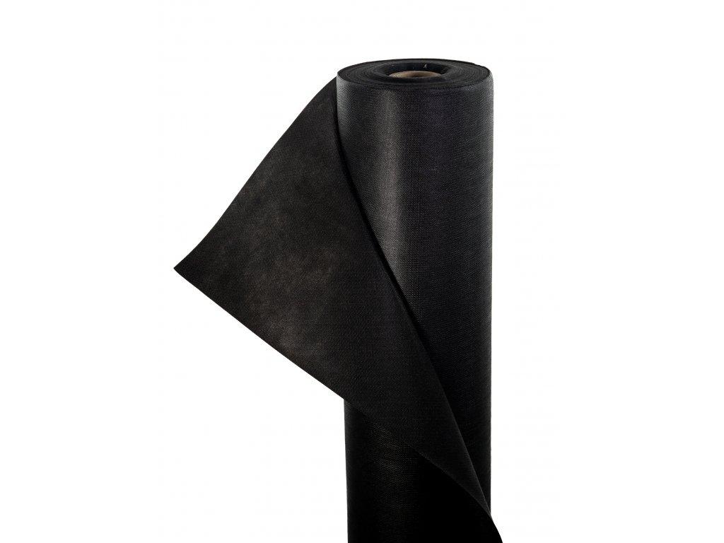 Mulčovacia netkaná textília ZELOTEX UV 100 g m2 čierna 1,6 x 50 m
